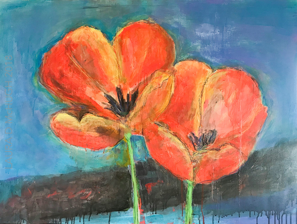 Poppies - 2500USD